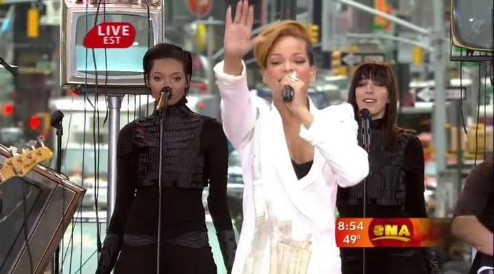 Good Morning America Umbrella : Umbrella Клипы и концерты Мир Рианны